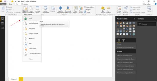 Importar dados do Excel